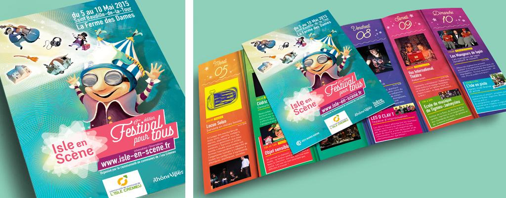 Programme du festival Isle en Scène